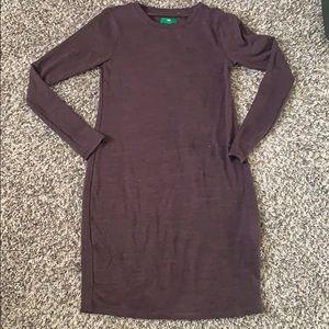 Dresses & Skirts - Purple Long sleeve T-shirt Dress